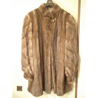 ニナリッチ(NINA RICCI)の50%オフ NINA RICCI ミンク ファー コート 15号毛皮(毛皮/ファーコート)