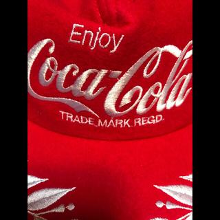 コカコーラ 非売品 キャップ 刺繍 20年物 ノベルティー HIPHOP(ノベルティグッズ)
