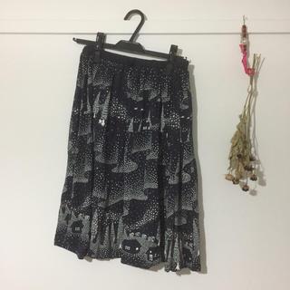 ミナペルホネン(mina perhonen)のmarble SUD オーロラスカート(ひざ丈スカート)