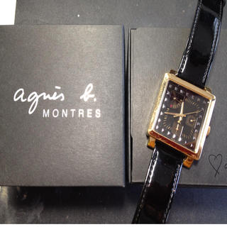 アニエスベー(agnes b.)の保証書付♡ agnes b.  腕時計(腕時計)
