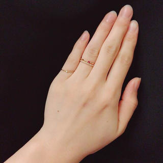 エステール ハーフエタニティ 7号(リング(指輪))