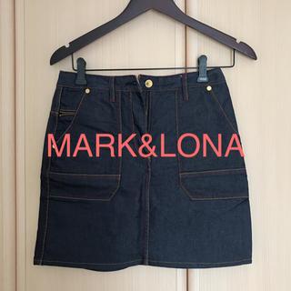 マークアンドロナ(MARK&LONA)のMARK&LONAデニムスカート(ウエア)
