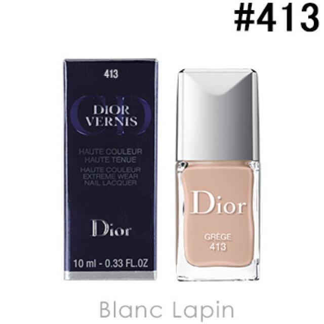 Dior(ディオール)のディオールヴェルニ 413 GREGE コスメ/美容のネイル(マニキュア