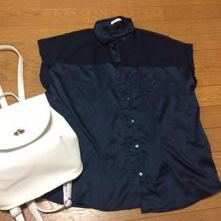 ジーユー(GU)のGU シースルーシャツ(シャツ/ブラウス(半袖/袖なし))