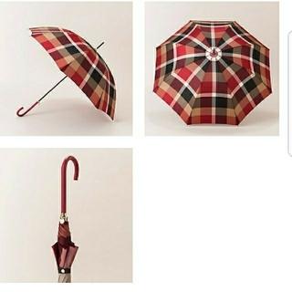 バーバリーブルーレーベル(BURBERRY BLUE LABEL)の703様専用です。新品タグ付☆ブルーレーベルクレストブリッジ チェック長傘(傘)
