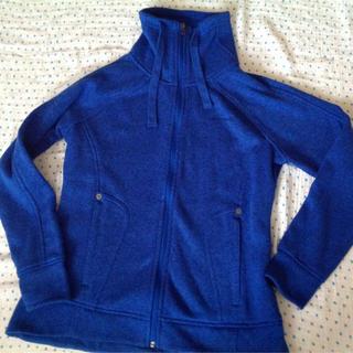 アヴァランチ(AVALANCHE)のアバランチ パーカー ジャケット Lサイズ レディース ブルー アヴァランチ(パーカー)