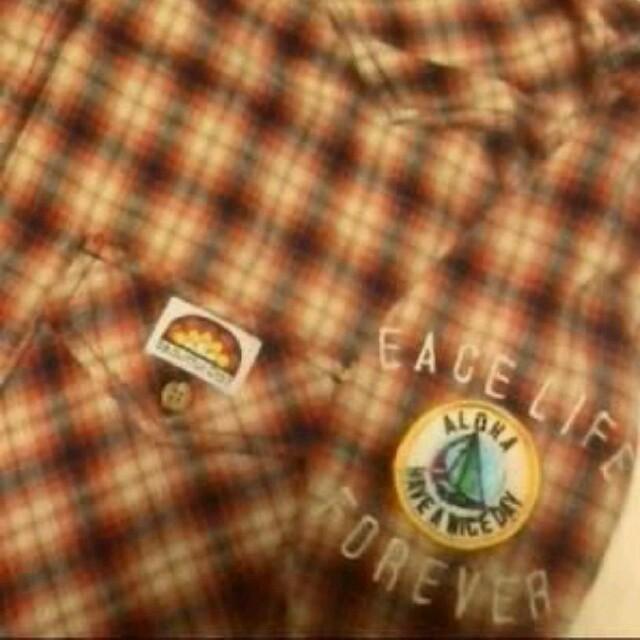 EXILE TAKAHIRO 着 24karats surf ネルシャツ 秋色 メンズのトップス(シャツ)の商品写真