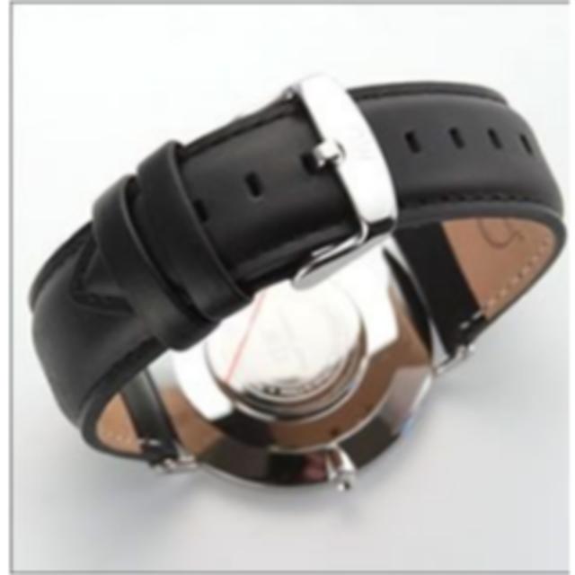 Daniel Wellington(ダニエルウェリントン)の0206DW ダニエルウェリントン 40mm シェフィールド シルバー メンズの時計(レザーベルト)の商品写真