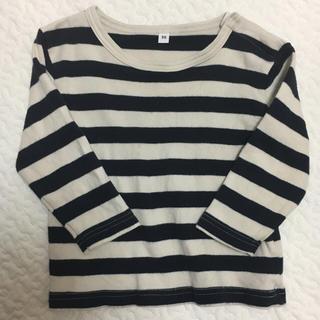 ムジルシリョウヒン(MUJI (無印良品))の無印良品ボーダーカットソー90(Tシャツ/カットソー)