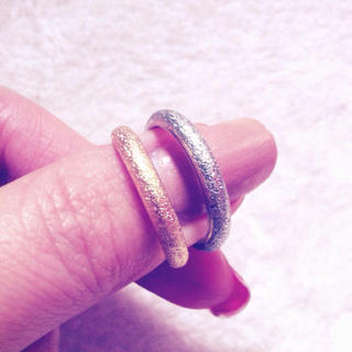 SILVER&GOLD Ring set(リング(指輪))