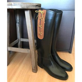 ダフナブーツ(Dafna Boots)の雨の日タイムセール! DAFNA ダフナ ★ レースアップレインブーツ(レインブーツ/長靴)
