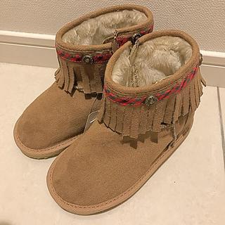 ファミリア(familiar)のゆみひま様専用 familiar フリンジブーツ 18cm(ブーツ)