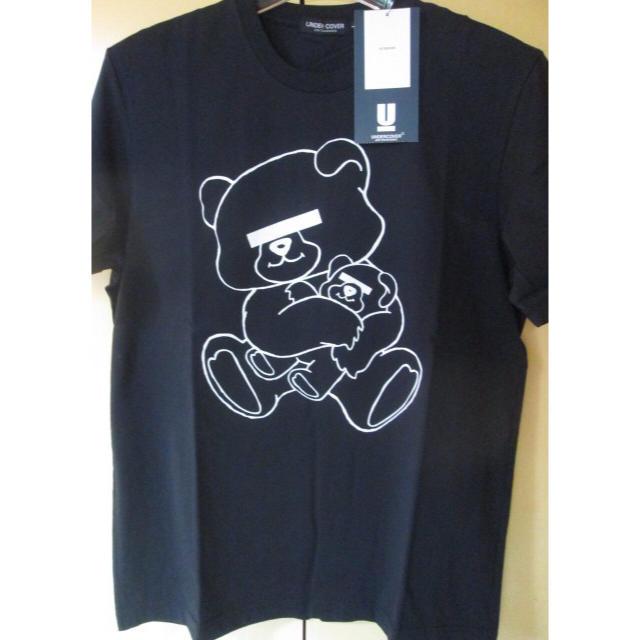 UNDERCOVER(アンダーカバー)の黒L UNDERCOVER 限定 BEAR Tシャツ ベア ロゴ アンダーカバー メンズのトップス(Tシャツ/カットソー(半袖/袖なし))の商品写真