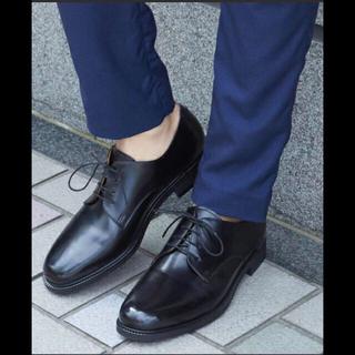 ステュディオス(STUDIOUS)の新品 STUDIOUS プレーントゥシューズ ブラック(ドレス/ビジネス)