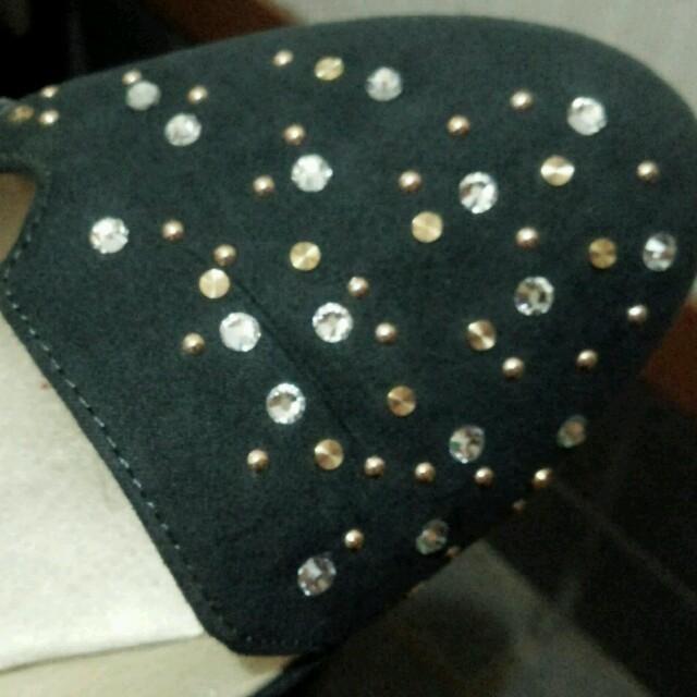 ORiental TRaffic(オリエンタルトラフィック)のスタッズパンプス レディースの靴/シューズ(ハイヒール/パンプス)の商品写真