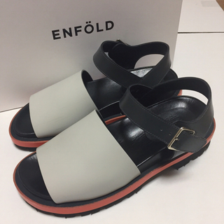 エンフォルド(ENFOLD)のENFOLD 2016AW シューズ(サンダル)