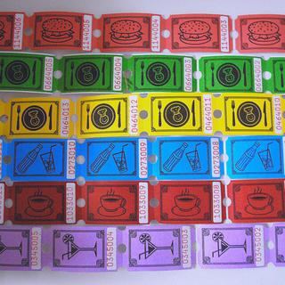 デンマーク フードチケット 6種×20枚(印刷物)