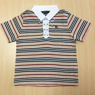 バーバリー(BURBERRY)のバーバリー ノバボーダーポロ120(Tシャツ/カットソー)