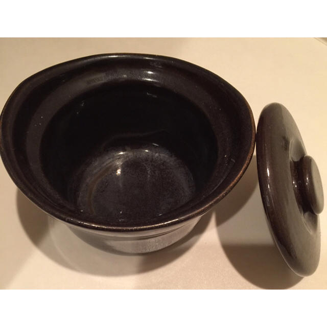 MUJI (無印良品)(ムジルシリョウヒン)のkaimiyu様専用 無印良品 土釜おこげ 3合炊き インテリア/住まい/日用品のキッチン/食器(鍋/フライパン)の商品写真