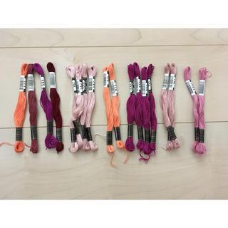 オリンパス(OLYMPUS)のオリムパス*刺繍糸*18本(生地/糸)