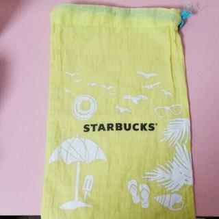 スターバックスコーヒー(Starbucks Coffee)の海外限定 スターバックス 巾着(ノベルティグッズ)