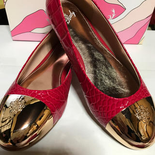 レディー(Rady)のRady☆先金クロコフラットシューズ☆L(ローファー/革靴)