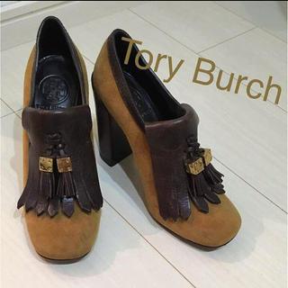 トリーバーチ(Tory Burch)のTory Burch スエード タッセル ブーティー(ブーティ)