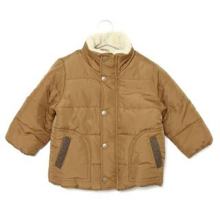 プティマイン(petit main)の冬 プチメイン ボア中綿入りジャンパー(ジャケット/上着)