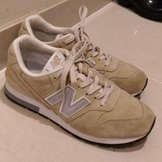 ニューバランス(New Balance)のnew balance 996 ベージュ 24.0  23.5cm(スニーカー)