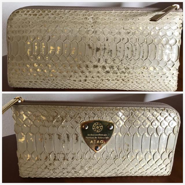 d50f0fe20611 ATAO - ATAO☆金箔パイソン財布の通販 by まろまろ's shop|アタオならラクマ