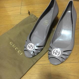 グッチ(Gucci)のGucci ラバーミュール(ミュール)