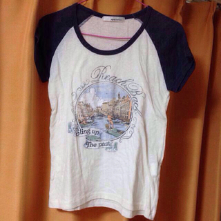 ミスティウーマン(mysty woman)のmysty woman*マリン風Tシャツ(Tシャツ(半袖/袖なし))