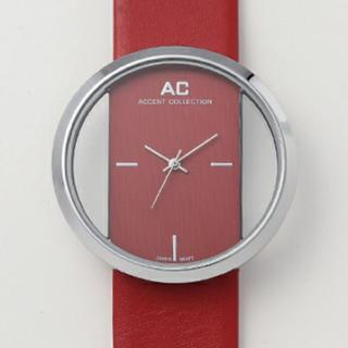 アントマリーズ(Aunt Marie's)のAUNT MARIE'S  クリアフェイス 腕時計(腕時計(アナログ))