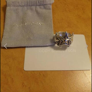 CODY SANDERSONコディーサンダーソン〓シルバーリング指輪ナバホ(リング(指輪))
