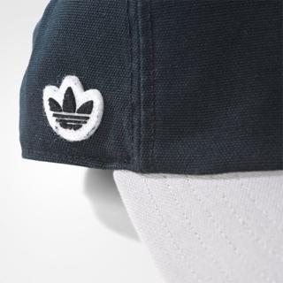 アディダス(adidas)の【新品】adidas オリジナルス キャップ 帽子 チビロゴ 黒グレー FW(キャップ)