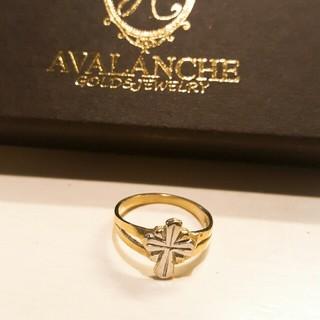 アヴァランチ(AVALANCHE)のAVALANCHE/アヴァランチ/10K/4号/イエローゴールド/ピンキーリング(リング(指輪))