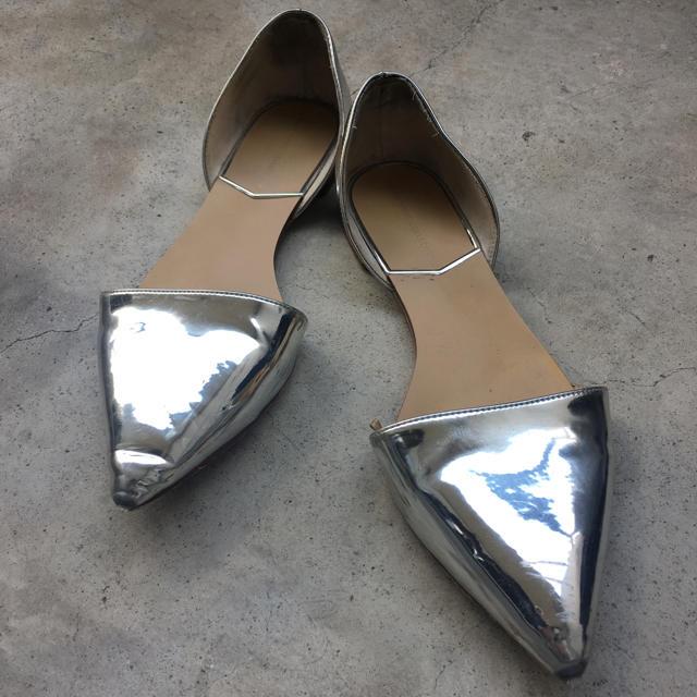 ZARA(ザラ)のペタンコパンプス レディースの靴/シューズ(ハイヒール/パンプス)の商品写真