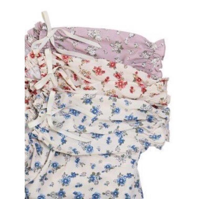 F i.n.t(フィント)の2wayトップス レディースのトップス(シャツ/ブラウス(半袖/袖なし))の商品写真