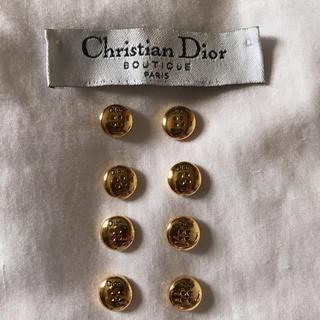 クリスチャンディオール(Christian Dior)のぶると様専用 Christian Dior タグ&ボタン(8個)(各種パーツ)