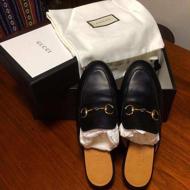 7291c89e4f81 Gucci(グッチ)の限定値下げ☆GUCCI グッチ プリンスタウン スリッパ レディースの靴