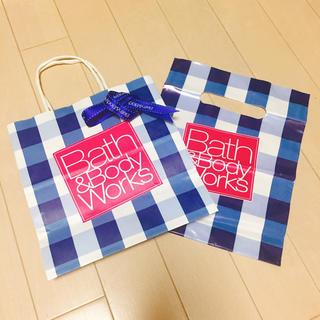 バスアンドボディーワークス(Bath & Body Works)の新品未使用♡Bath&Bodyworks ショッパーセット(ショップ袋)