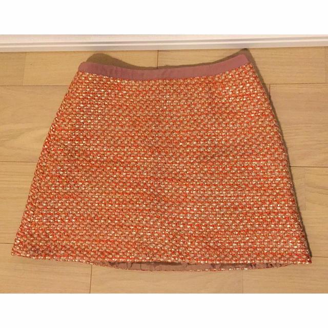 PROPORTION(プロポーション)の♫ オレンジ スカート♫ レディースのスカート(ミニスカート)の商品写真
