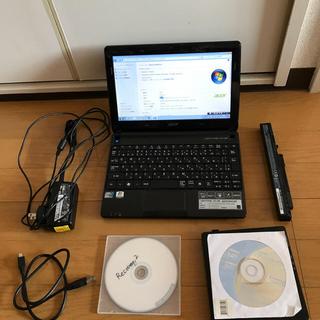 エイサー(Acer)の【もっと値下げ】Acer ネットPC Aspire One D270 Win7 (ノートPC)