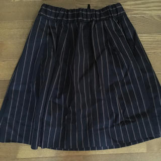 バビロン(BABYLONE)の美品 バビロン ストライプスカート(ひざ丈スカート)