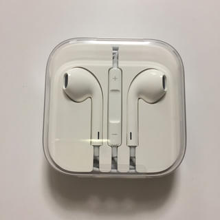 アップル(Apple)のiPhoneイヤホン正規品(ヘッドフォン/イヤフォン)