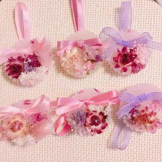 sweet pastel pink sachet(ドライフラワー)