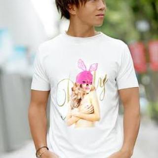レディー(Rady)のrady ラビットレースマスクガール メンズ Tシャツ 新品未使用未開封(Tシャツ/カットソー(半袖/袖なし))