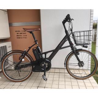 ブリヂストン(BRIDGESTONE)の【手渡し限定】電動自転車 ブリヂストン リアルストリームミニ 黒(車体)