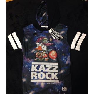 カズロックオリジナル(KAZZROCK ORIGINAL)の【新品未使用】kazzrockカズロック 半袖メッシュパーカー(パーカー)