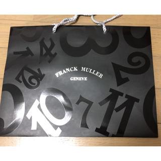フランクミュラー(FRANCK MULLER)の※美品※ FRANCK MULLER(フランク ミュラー)紙袋(ショップ袋)